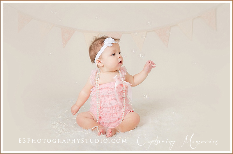 Miss Celisse | 9 Month Growing Baby Portraits