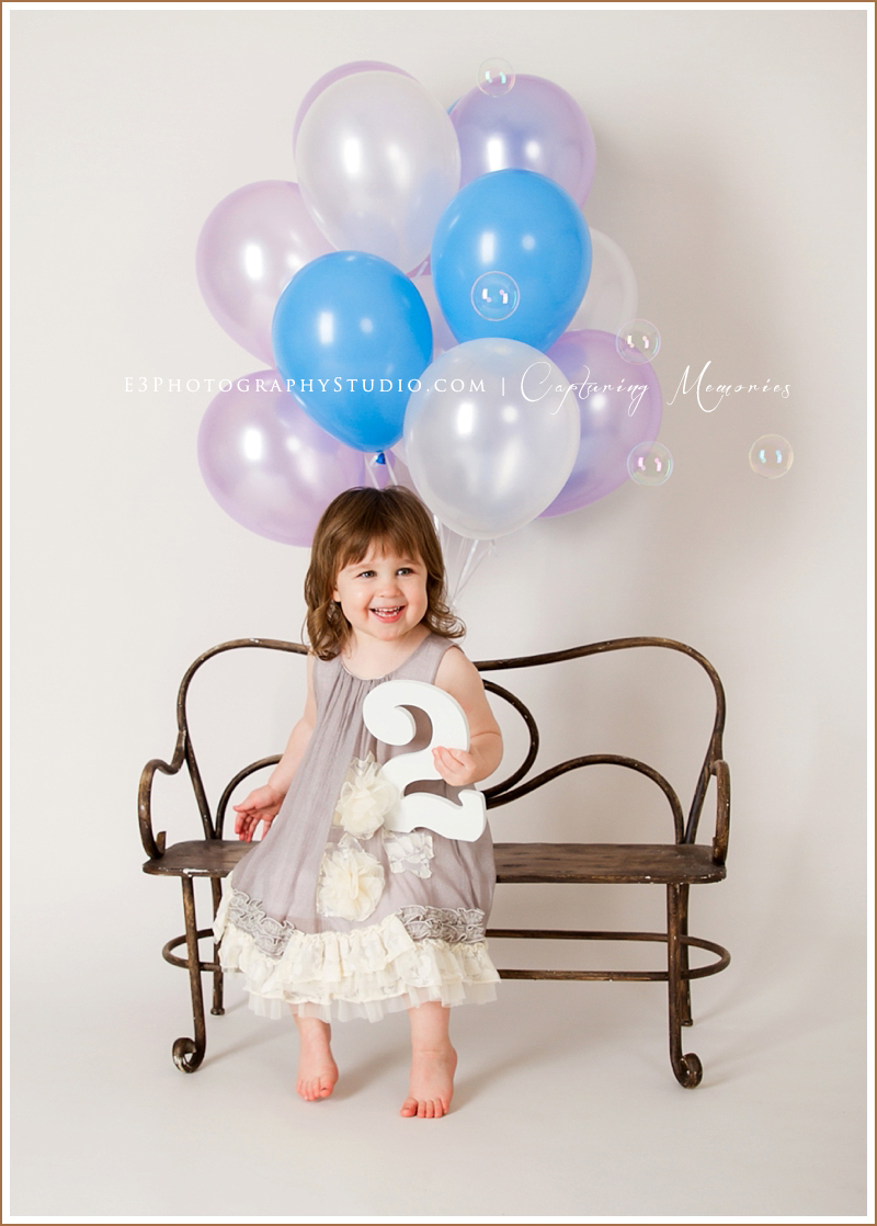 Miss Vivian Turns 2 | A Birthday Portrait Session