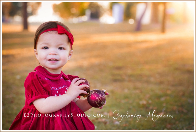 The Lew Family | An Outdoor Holiday Session