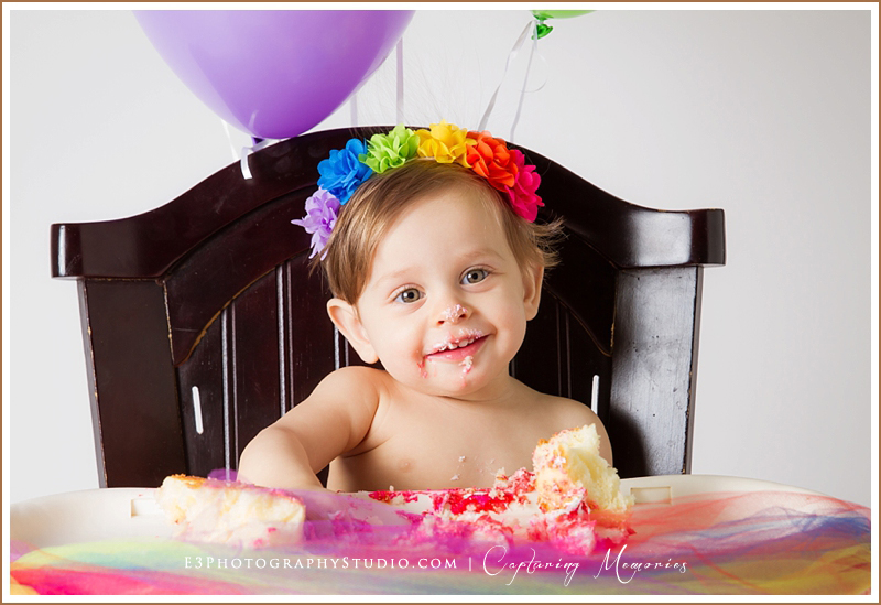Miss Eden Turns One | A Birthday Cake Smash Session