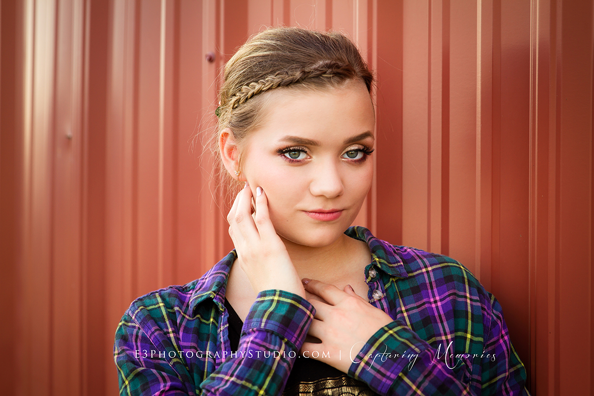 E3 Photography Studio. Nebraska Senior Photographer | Central Nebraska High School Senior Photography | Hastings NE Senior Portrait Artist
