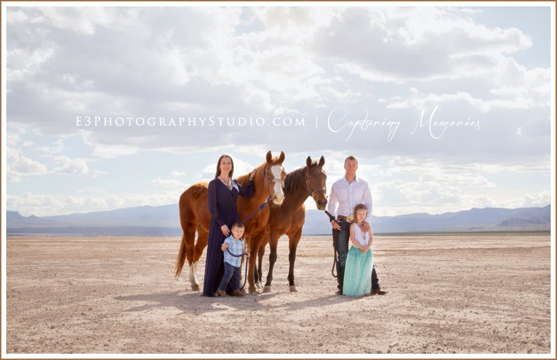 The Miller Family | A Dry Lake Bed Destination Session