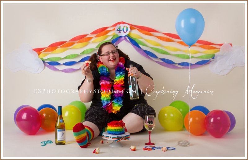Renee's 40 Year Cake Smash | A Special Birthday Session